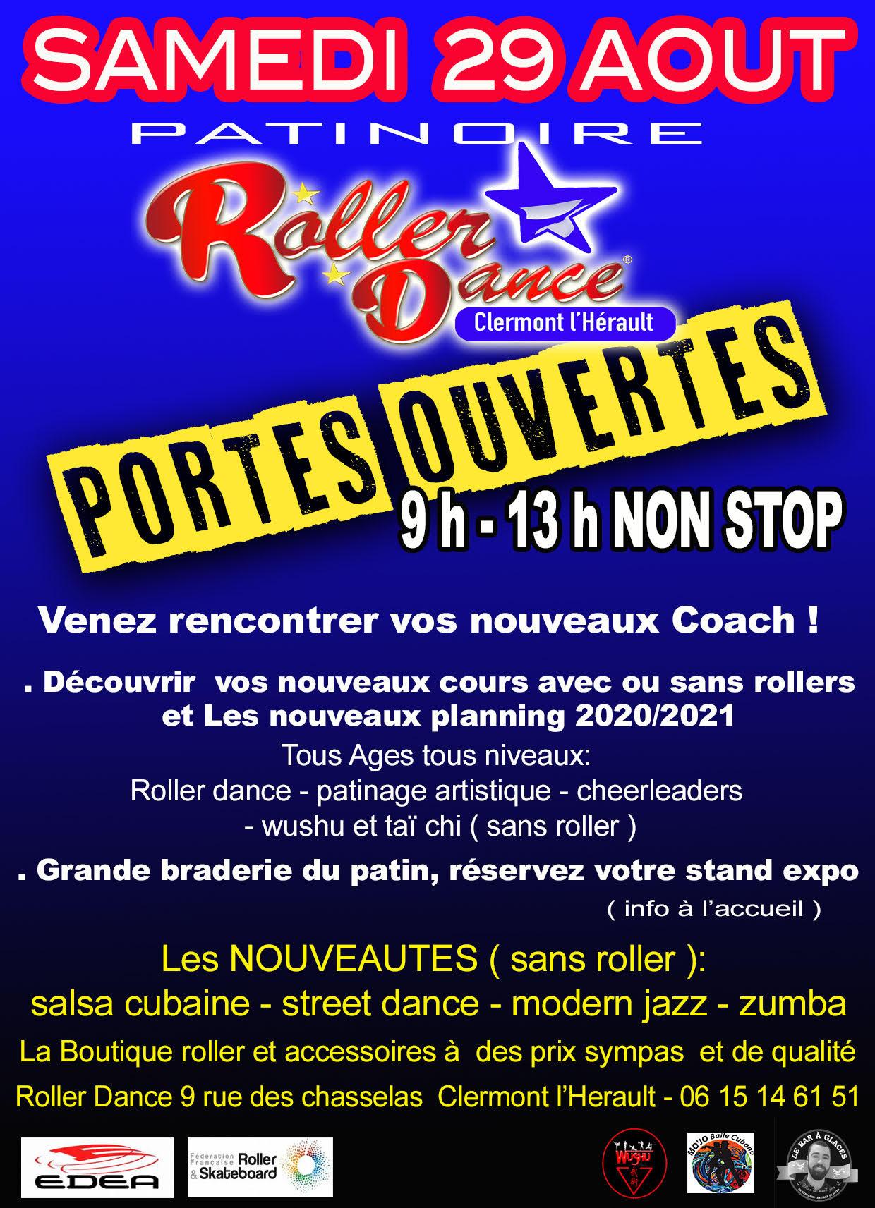 Roller Dance Portes ouvertes 2020