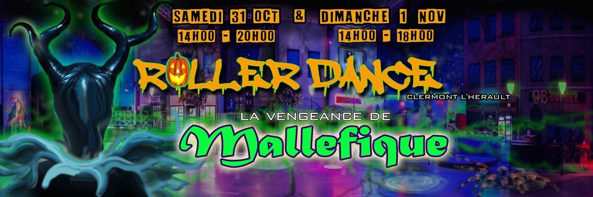 Roller Dance Halloween Party La Vengeande de Mallefique